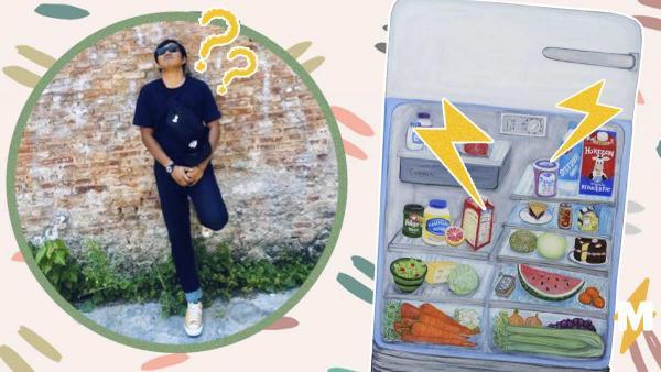 Парень стал археологом, найдя еду из прошлого тысячелетия. Правда, древность он отыскал у себя в холодильнике