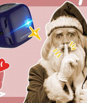 Устройство, возвращающее в детство: что такое портативный проектор CINEMOOD?