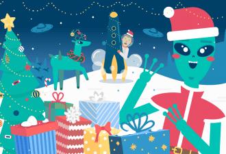 Игра. Устрой новогоднюю вечеринку с подарками для инопланетян  — и узнай, что они с тобой сделают