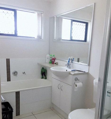 Отдельная ванная комната для няни