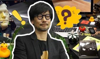 Хидэо Кодзима сфоткал бардак на своём рабочем столе, и фанаты в восторге. Ведь так он анонсировал новый проект