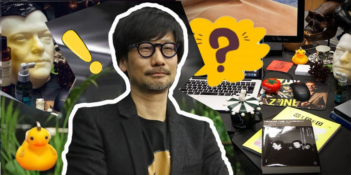 Хидео Кодзима сфоткал бардак на своём рабочем столе, и фанаты в восторге. Ведь так он анонсировал новый проект