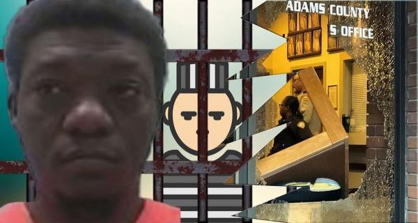 Мужчина разбил несколько окон и загремел в тюрьму, но очень счастлив. Ведь в этом и заключался его хитрый план