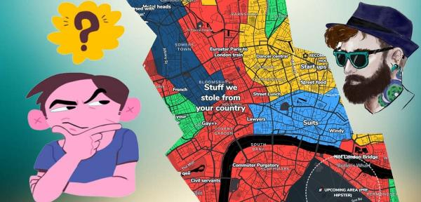 В Сети появился сайт, который расскажет всю правду о вашем городе. И можно залипнуть на часы, изучая эти карты