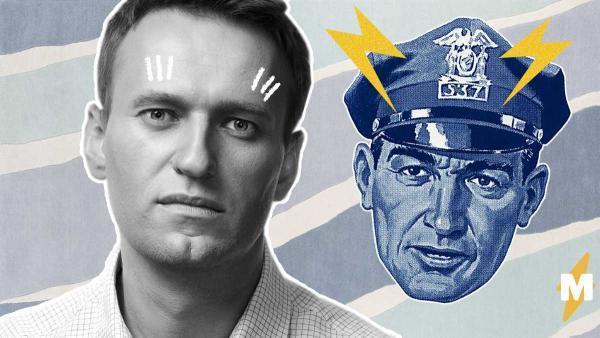 Навальный присел под дверью ФБК и развязал фотошоп-битву. Ведь обыск заразил его новогодним настроением
