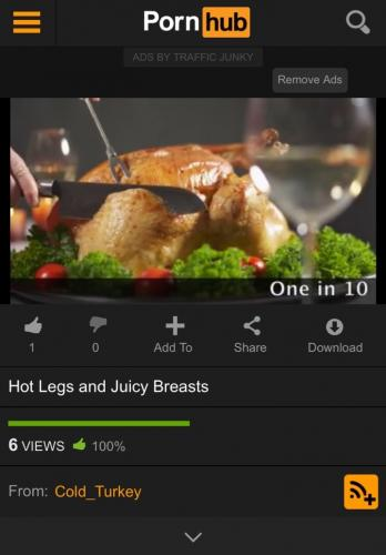 На сайтах для взрослых появились видео с индейкой. Но это не новый фетиш, а важное предупреждение для мужчин