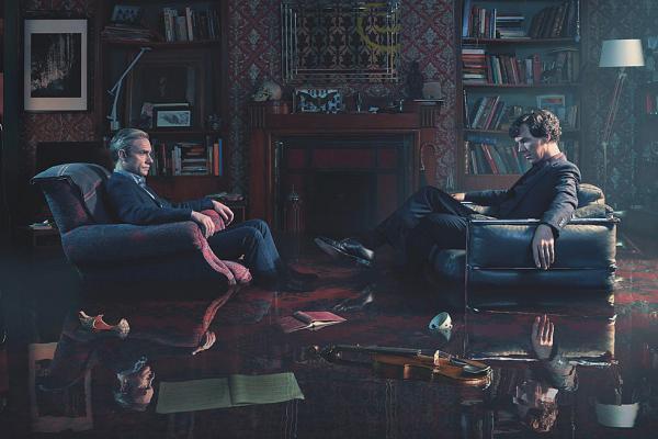 """Девушка выложила кадры из пятого сезона """"Шерлока"""". И заставила всех замереть в ожидании, но причина жестокая"""