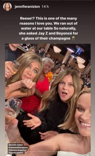 Как получить шампанское от Jay-Z и Бейонсе? Риз Уизерспун поставила на мемы (и смелость) и не прогадала