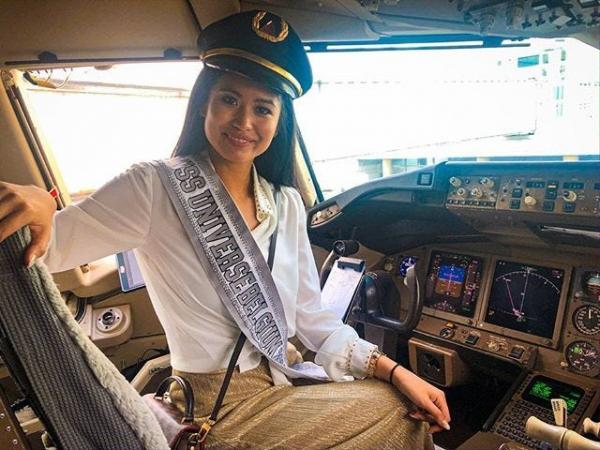Девушка-пилот