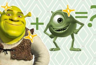 Йода Вазовски и ШрекМит. Реддитор скрестил всех зелёных героев мемов, и это генетика, которую мы заслужили