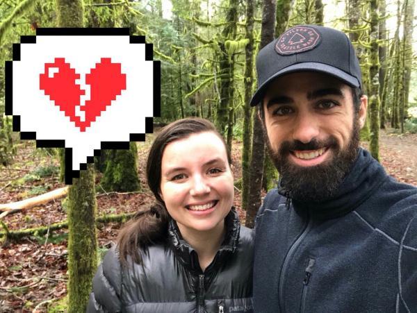 Мужчина показал фото с женой и псом, но это не простой снимок. Женщина на нём навсегда прощается с близкими