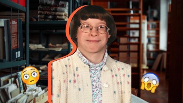 Мальчик или пожилая библиотекарша? Люди увидели старый снимок, и угадать, кто на нём, просто невозможно
