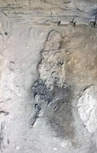 На месте извержения Везувия в Помпеях нашли остатки мозга. Но выглядят они как чёрное стекло