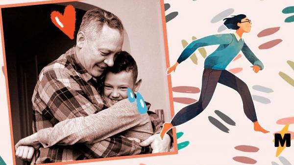 Отец придумал, как поддержать сына во время соревнований по бегу. Но его способ больше напоминает троллинг