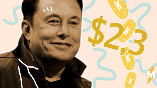 Илон Маск разбогател на 2,3 миллиарда долларов за час. А ведь его первый бизнес-план был проще некуда