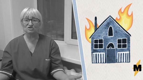 У жительницы посёлка забрали племянниц, а потом сгорел её дом. И в этом видят один страшный сценарий