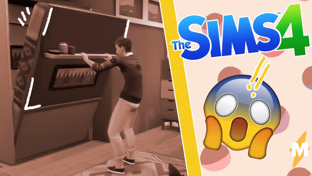 Как же похорошел Sims 4 при новом обновлении. Складная кровать дала шанс геймерам издеваться над симами