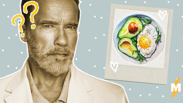 Арнольд Шварценеггер показал Сети обед с друзьями. Но вместо еды люди увидели на фото намёк на убийство