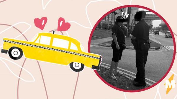 Пара обнялась в такси, но женщина за рулём оказалась строгих нравов. А её реакция побьёт топ выходок водителей
