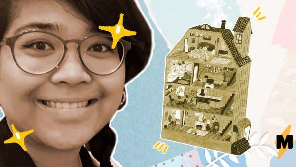 Девушка больше полугода жила в крошечной квартирке в Лос-Анджелесе. Это была почти каморка, но какая