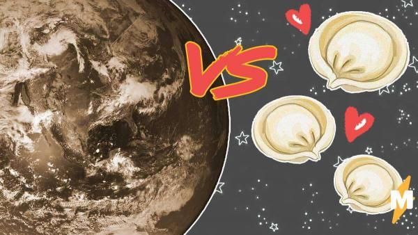 Теория плоской Земли - прошлый век, ведь планета на самом деле пельмень. Это троллинг, и он вкусный
