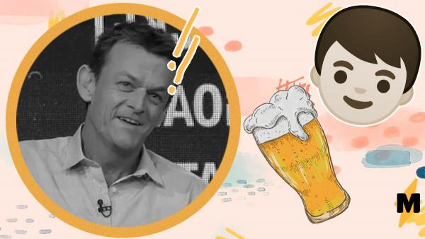 Комментатор заметил своего сына с пивом на матче по крикету. Парень крупно попал и ему уже не отвертеться