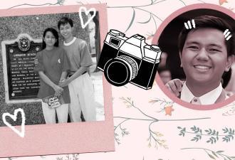 Пара воспроизвела фото 27-летней давности и рассказала, что стоит за снимком. Об их любви только кино снимать