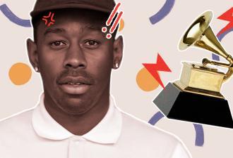 Tyler, The Creator выиграл «Грэмми». И именно поэтому упрекнул премию в расизме