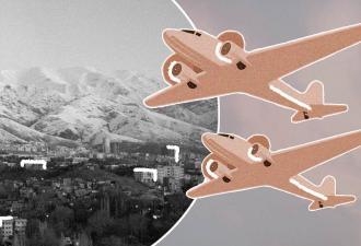 В Иране самолёт выкатился прямо на шоссе. И высадка пассажиров из него выглядит как настоящий экстрим