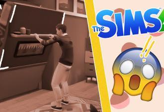 Новая складная кровать стала лучшим орудием убийства в Sims 4. Похоже, это идеальная замена бассейну
