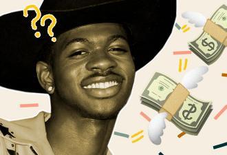 Lil Nas X забросал девушек деньгами на афтепати