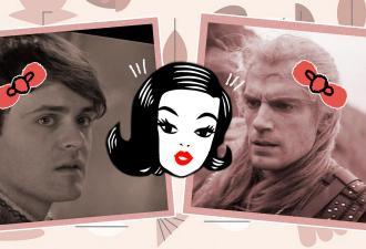 Художницы сменили пол Геральту с Лютиком и влюбились в них. Фем-версии героев, заслужившие чеканную монету