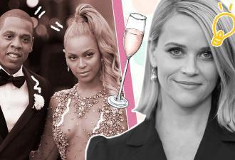 Как получить шампанское от Jay-Z и Бейонсе. Риз Уизерспун поставила на мемы (и смелость) и не прогадала
