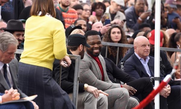 Эминем поздравил 50 Cent'а со звездой на Аллее Славы. И его речь в честь друга вышла непривычно милой