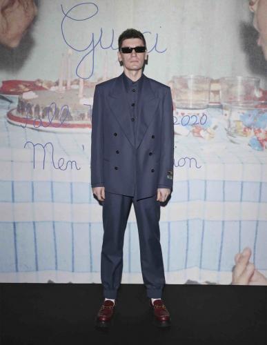 Все были уверены, что Александр Гудков - идеальный амбассадор Gucci. Подвоха не заметили, а зря