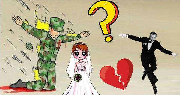 Мужчина придумал, как избежать свадьбы, но перестарался. Под венец его возвращали с помощью армии и полиции