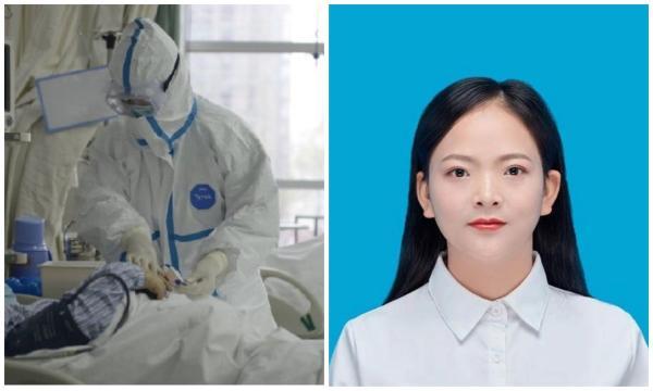 Медсестра из Уханя побрилась налысо и изменилась до неузнаваемости. Девушка пошла на всё ради борьбы с вирусом