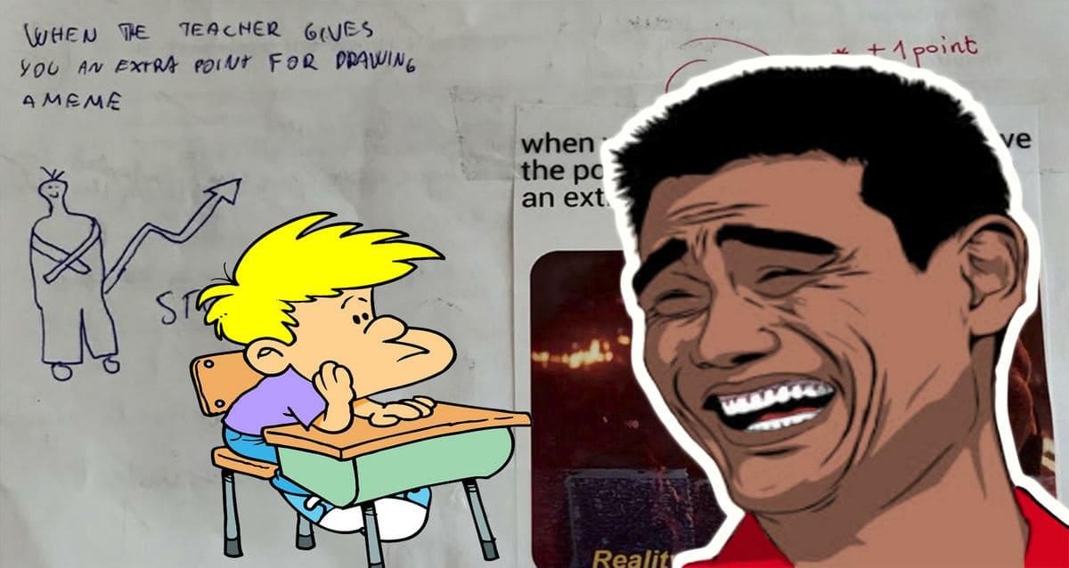 Юноша пошутил над учительницей на экзамене, но не на ту напал. Ответка показала - ему есть, чему у неё поучиться