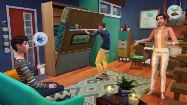 Как же похорошел Sims 4 при новом обновлении. Складная кровать дала геймерам издеваться над симами