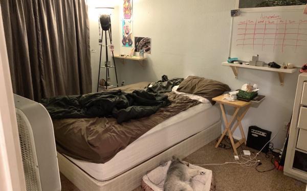 Девушка рассталась с парнем после пяти лет отношений, и её комнату не узнать. Впрочем, людям не верится,