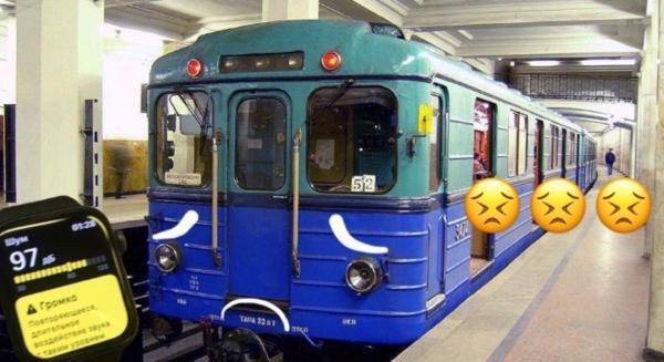 Apple Watch считают, что старые вагоны метро в Москве опасны для здоровья. Но люди придумали решения проблемы