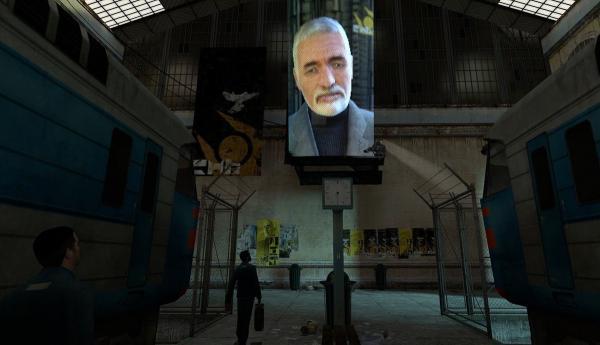 Послание Путина покажут буквально везде: на стенах домов, Эльбрусе и МКС. Добро пожаловать в Half-Life