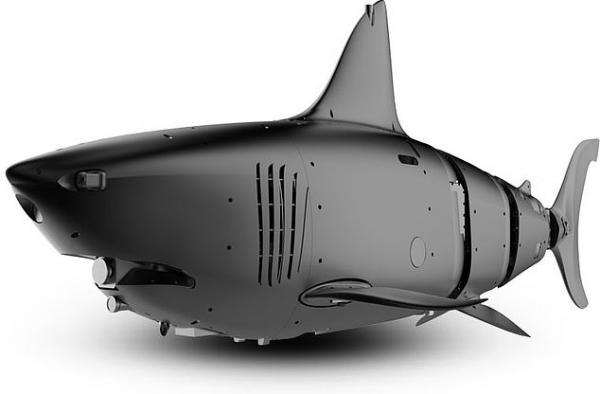 Учёные сделали робота-акулу, которая может служить для военных целей. Но людей в Сети она просто очаровала
