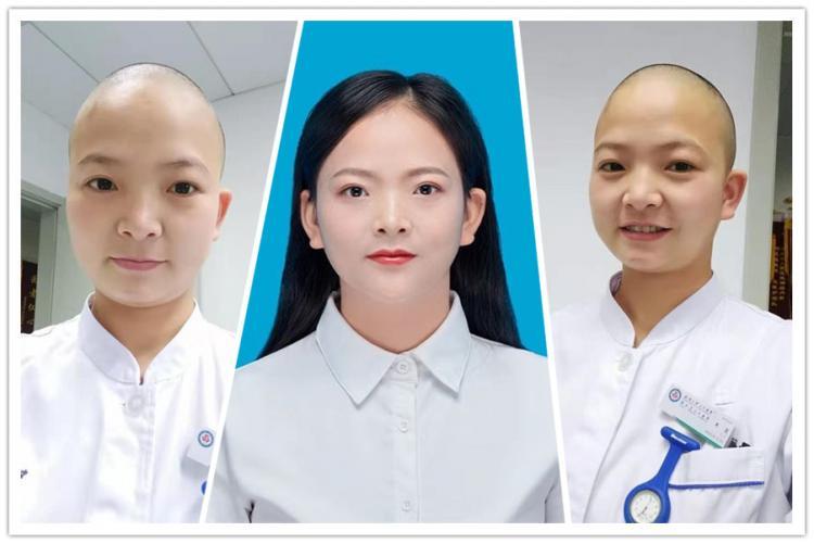 Медсестра из Уханя обрезала волосы и изменилась до неузнаваемости. Девушка пошла на всё ради лечения людей