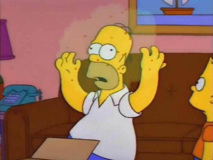 """Они вновь сделали это: """"Симпсоны"""" предсказали коронавирус ещё в 1993 году. Тогда всё закончилось неутешительно"""