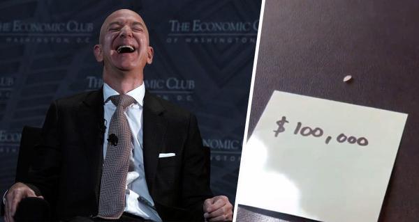 Насколько богат Джефф Безос? Блогер узнал: если бы зерно риса стоило $100 000, он бы не поднял всё, что купил