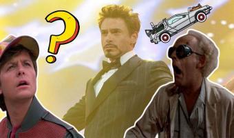 Старк и Человек-паук отправились «Назад в будущее» — буквально. И лучших Дока и Марти невозможно представить