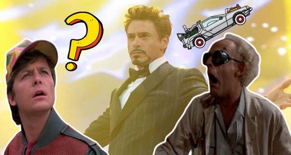 """Старк и Человек-паук отправились """"Назад в будущее"""" - буквально. И лучших Дока и Марти невозможно представить"""