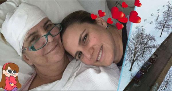 Дочь хотела поддержать больную раком маму, а помогла целой клинике. И чудо принёс первый снег в жизни девушки