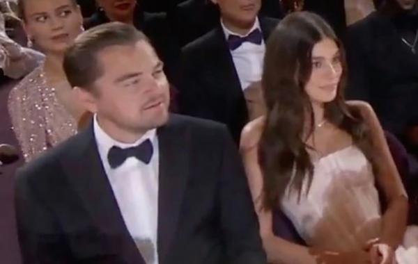 """Леонардо Ди Каприо пришёл на """"Оскар"""" с новой девушкой, и тролли взбунтовались"""